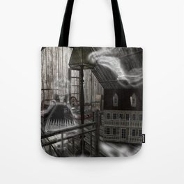 Toys in the Attic Haunted Tote Bag