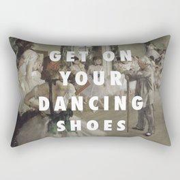 La Classe de Chaussures Rectangular Pillow