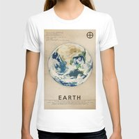 earth T-shirts featuring Earth by Heather Landis