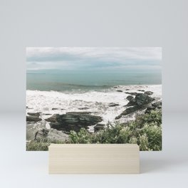 Cliff Walk, Rhode Island - Photography 3 Mini Art Print