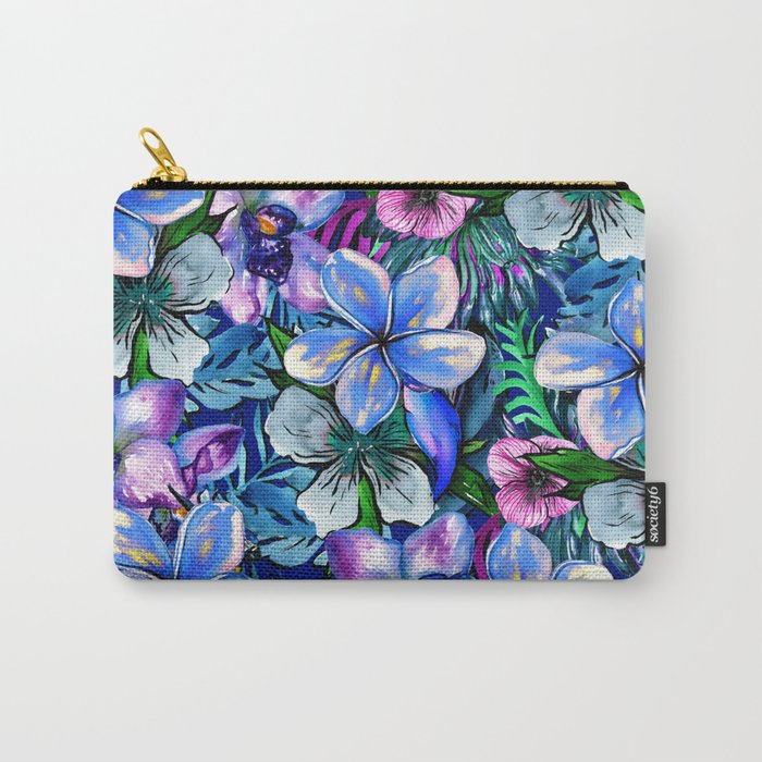 My Tropical Garden 5 - variation Carry-All Pouch