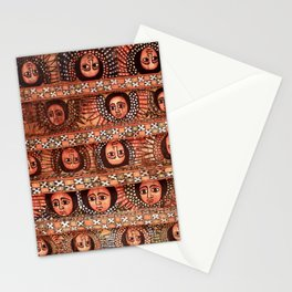 The Angels of Debre Birhan Selassie Church Stationery Cards