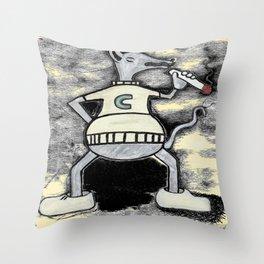 Cigarat  Throw Pillow