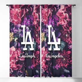 Los Angeles City Skyline Blackout Curtain