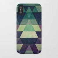 spires iPhone & iPod Cases featuring dysty_symmytry by Spires
