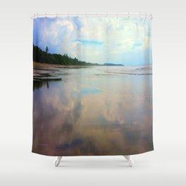 Glassy Uvita Shower Curtain