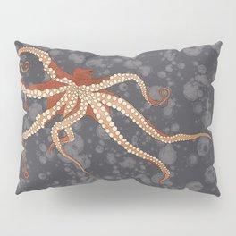 Rad Orange Octopus Pillow Sham