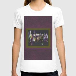 Hydrangea in Purple T-shirt