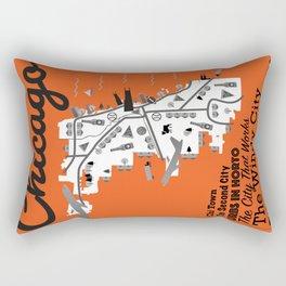 Great Cities: Chicago Rectangular Pillow