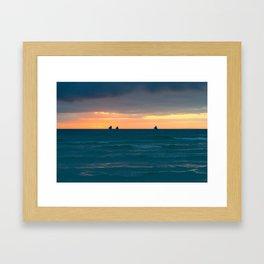 BORACAY 08 Framed Art Print