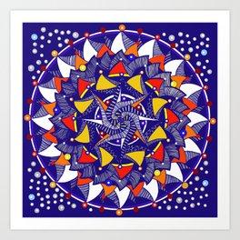 Mandala 12 Art Print