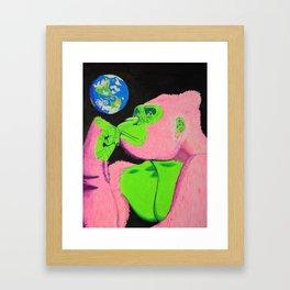 Create or Destroy Framed Art Print