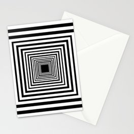 Optic Illusion Room With Visual Effect Stationery Cards