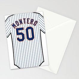 Rafael Montero Jersey Stationery Cards