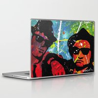 blues brothers Laptop & iPad Skins featuring Blues by veermania