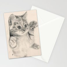 Rub my belly... Stationery Cards