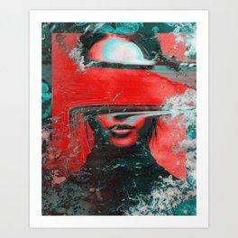 Razel Art Print