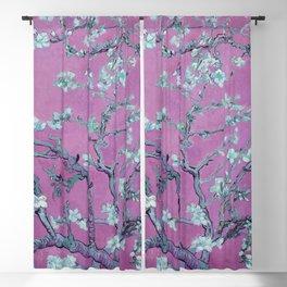 "Vincent van Gogh ""Almond Blossoms"" (edited pink) Blackout Curtain"