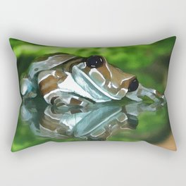 Amazon Milk Frog Rectangular Pillow