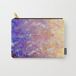 Abstract Art in Sunset Palette Carry-All Pouch