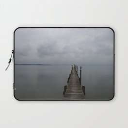 Lake Chiemsee In A Mist Laptop Sleeve