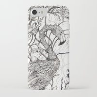 rare iPhone & iPod Cases featuring Rare Bird by Shanna Duncan