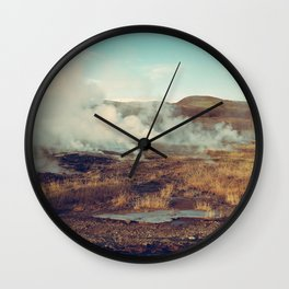 Geysers Wall Clock