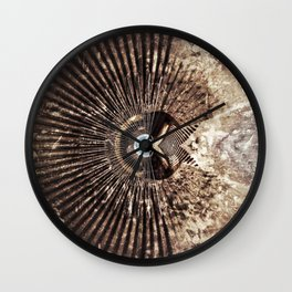 Geometric Art - WITHERED Wall Clock