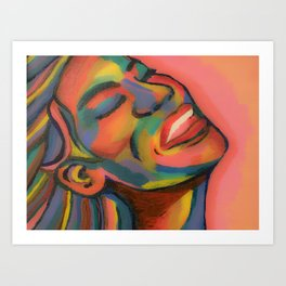Laugh at it Art Print