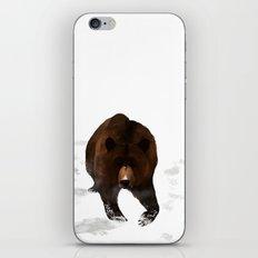 Through the Snow iPhone & iPod Skin