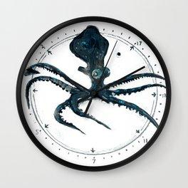 Cephalopod Prime Wall Clock