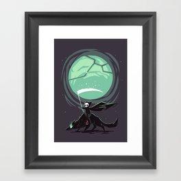 Little Reaper Framed Art Print