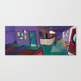 Magic Cafe Canvas Print