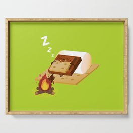 Sleeping S'more Serving Tray