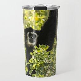Black monkey Travel Mug