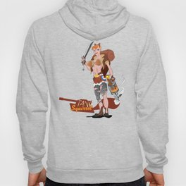 Tank Squirrel Hoody