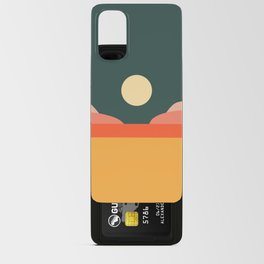Geometric Landscape 14 Android Card Case