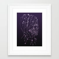constellation Framed Art Prints featuring Constellation by Zak Rutledge