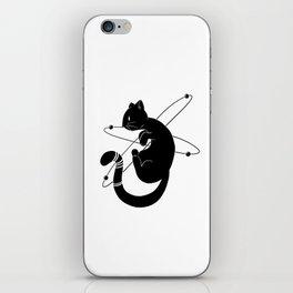 Zero-gravity Cat iPhone Skin