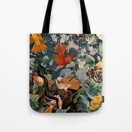 Birds and snakes Tote Bag