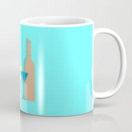 Life is too short to drink bad wine art print bar decor interior design printing home decor wall dec Coffee Mug