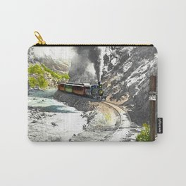 Rounding Inspiration Point--Clear Creek Canyon Carry-All Pouch