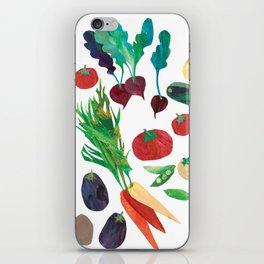 Love Your Veg iPhone Skin