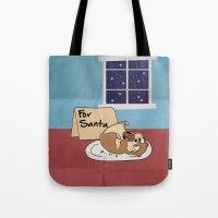 hamster Tote Bags featuring Hamster Cookies by ne11amae