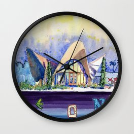 La Concha Wall Clock