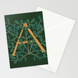 Forest letter A2 2018 Stationery Cards