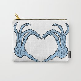 Anti-Valentine Collection - Skeleton Heart Carry-All Pouch