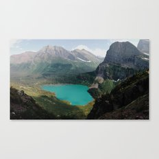 Grinnell Lake, Glacier National Park Canvas Print