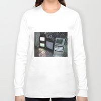 tv Long Sleeve T-shirts featuring Bollywood Televisions by BOLLYWOOD
