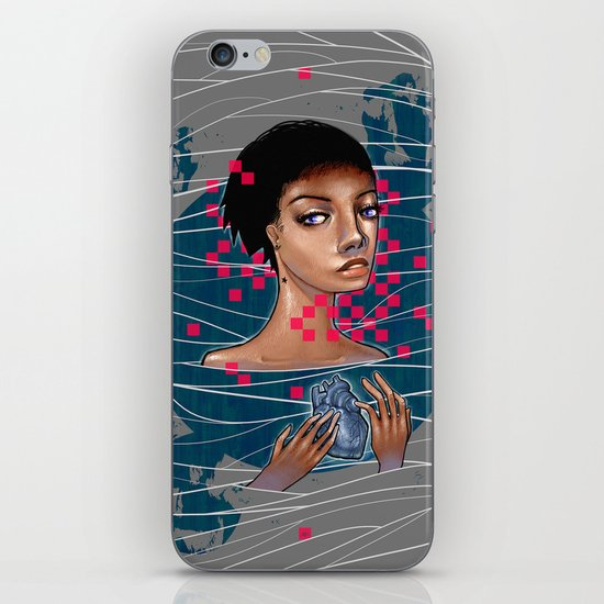 cold as heart iPhone & iPod Skin